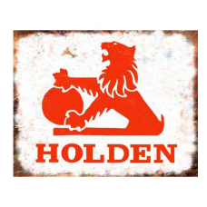 Holden Rustic Tin Sign