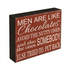 Men Are Like Chocolates