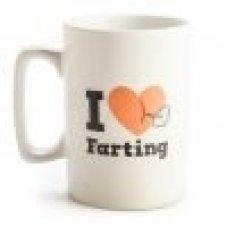 Talking farting mug