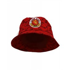 Lion Red Angry Fish Bucket Hat
