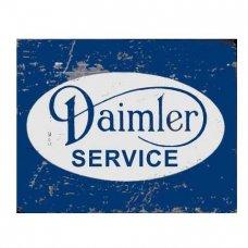 Daimler Service TIn Sign