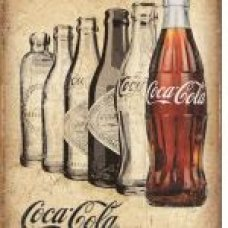 Coca Cola It's the real thing tin sign