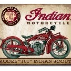 Indian Scout Tin SIgn
