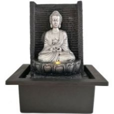 Silver Buddha Water Feature