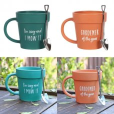Plant Pot Mug - 2 to choose from