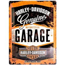 Harley Davidson Garage Sign