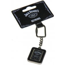 Jack Daniels Full Label Swivel Keyring