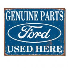Genuine Parts Ford Sign