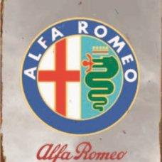 Alfa Romeo Tin Sign - Tin Signs