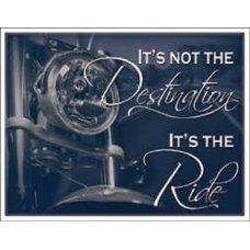 It's not the destination...