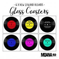 Record Coasters by Moana Road