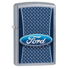 Zippo Ford Checkerplate