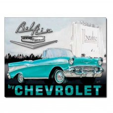 Chevrolet Belair Tin Sign