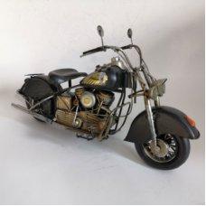 Black Indian Motorbike