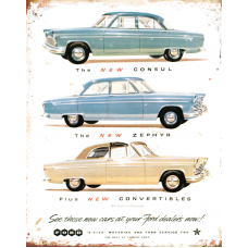Ford Three - TIN SIGNS