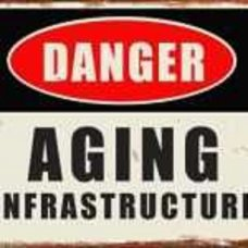 Danger - Aging Infrastructure Tin Sign