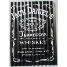 Jack Daniels Corrugated Tin Sign