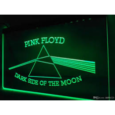 Pink Floyd LED Green