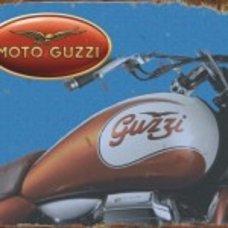 Moto Guzzi Tin Sign