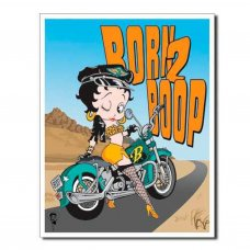 Betty Boop - Born to Boop tin sign - Tin Signs