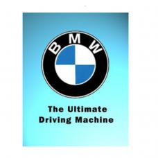 BMW Ultimate Tin Sign - TIN SIGNS