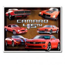 Camaro 45th Anniversary - Tin Signs