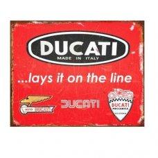 Ducati Tin Sign