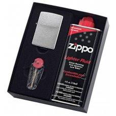 Zippo Street Chrome Gift Pack