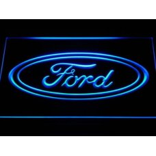 Ford LED Blue Sign