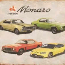 Holden Monaro Tin Sign