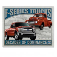 Ford F Series Tin Sign - Tin Signs