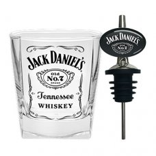 Jack Daniels Spirit Glass and Pourer Set