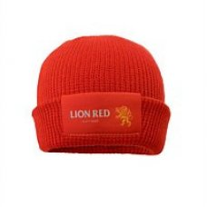 Lion Red Beanie