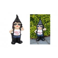 Biker Chic Gnome