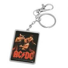 ACDC Trio Chrome Key Ring