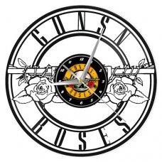 Guns n Roses Logo VInyl Clock